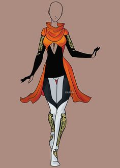 Fashion Adoptable Auction 61 - CLOSED by Karijn-s-Basement on DeviantArt Dress Drawing, Drawing Clothes, Trendy Fashion, Fashion Art, Fashion Design, Anime Outfits, Cool Outfits, Character Inspiration, Character Design