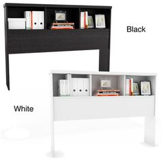 @Overstock - This Sonax Willow queen-size bookcase headboard adds some practical extra stoage to any bed frame. This headboard comes with three open shelves. It makes a perfect place to store your books, cell phone, alarm clock, or other items kept close to the bed.http://www.overstock.com/Home-Garden/Sonax-Willow-Queen-size-Bookcase-Head-Board/7277933/product.html?CID=214117 $200.99