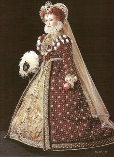 Elizabeth I Doll