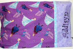 Frozen Pillowcase girls pillowcase Twin by FunThreadzBoutique
