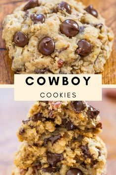You do not have to be a cowboy or a cowgirl to love these cooks. There are so many textures, flavors and elements in every beast and everything works one way or another. Cookie Recipes, Snack Recipes, Healthy Recipes, Snacks, Bread Cake, Quick Easy Meals, Beast, Appetizers, Yummy Food