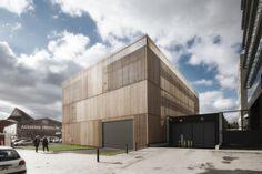 Edifício de Arquivo de Saint Denis / Antonini + Darmon Architectes