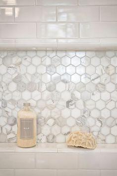 Carerra hex in shampoo niche