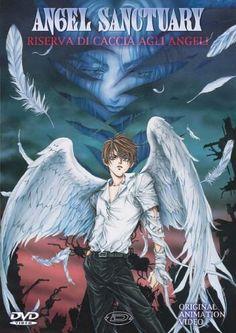 Angel Sanctuary  http://myanimelist.net/anime/51/Angel_Sanctuary