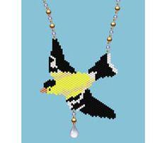 Goldfinch Necklace, Sova Enterprises