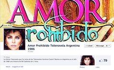 Amor Prohibido Telenovela | Pagina Facebook