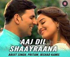 AAJ DIL SHAYRANA Mp3 Song Download Holiday Arijit Sin