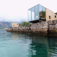 @SoudaBrooklyn / @designmilk: Currently wishing we could stay in one of these holiday #cabins at the #Manshausen Island Resort in #Norway. Design by @snorre_stinessen \\ Photo by Siggen StinessenPosted by Souda Recent releases from Souda: Pi Mirror, Signal Floor Light, Profile Chair, Signal Sconce, More