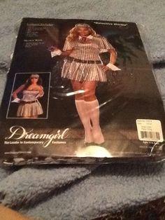 Detective Shirley Dreamgirls Plus Size Sexy Halloween Costume Sz 1x2x  (7 piece) #Dreamgirl #CompleteCostume
