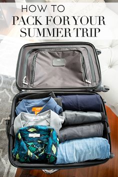 How to pack for your summer trip