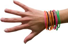 Gummi Bracelets. Awesome