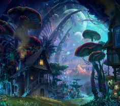 How my world looks inside my head#gotoplace#life#mushroomcity