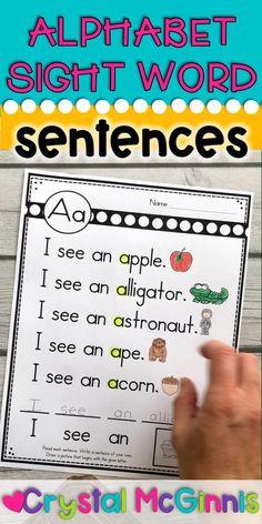 Kindergarten Reading Activities, Kindergarten Lesson Plans, Homeschool Kindergarten, Preschool Learning, Learning Centers, First Grade Curriculum, Homeschool Preschool Curriculum, 1st Grade Activities, Kindergarten Readiness