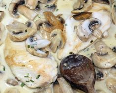 Wild Turkey Breasts in Mushroom Sauce Recipe