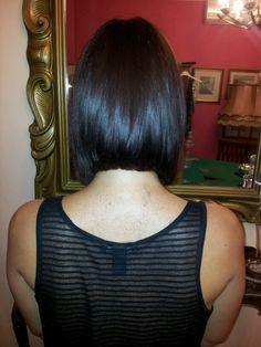 Il mio primo taglio di capelli....cavia mia sorella