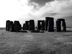 Stonehenge - Monochroom