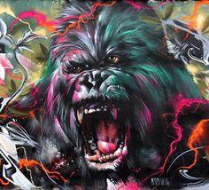 XavTattoo #streetart This is just unreal amazing