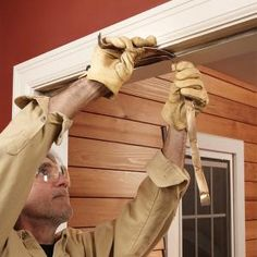 Stop cold air in its tracks by replacing the weather stripping around your exterior doors. This simple project will keep your home warm all season long.