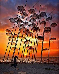 Hercules Milas (@herculesmilas) • Φωτογραφίες και βίντεο στο Instagram Thessaloniki, Albania, Poesia Visual, Image Nature, Umbrella Art, Parasols, Photos Of The Week, Outdoor Art, Greece Travel