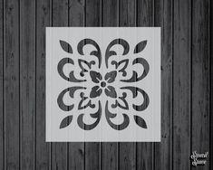 Stencil Painting, Fabric Painting, Santa Paula, Stenciled Floor, Yard Sticks, Star Stencil, Large Stencils, Thing 1, Painters Tape