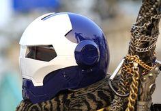 Luusama Motorcycle And Helmet Blog News: Masei 610 Atomic-Man Motorcycle Open Face Harley Arai Iron-Man Luusama Helmet