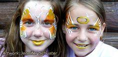 Mehron Precious Gem Powders Video Demo—Face Painting Tips Shop