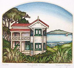 New Zealand prints at Art by the sea, fine art gallery in Devonport, Auckland, New Zealand New Zealand Art, Kiwiana, Rare Birds, Marker Art, Bird Prints, Fine Art Gallery, New Art, Printmaking, Fine Art Prints