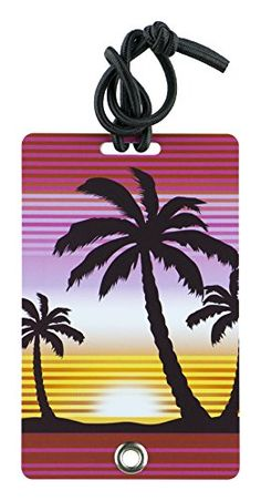 YaYtag Fun New Concept of Luggage Tag Sunset 2 Piece *** Click on the image for additional details.Note:It is affiliate link to Amazon. #cool