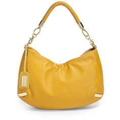 Badgley Mischka Farisa Shoulder Bag/Yellow