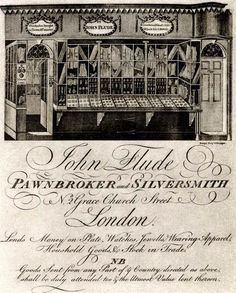 The Old Trade Cards of 18th century London