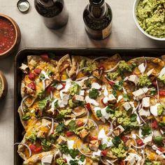 Ultimate Nachos recipe   Epicurious.com