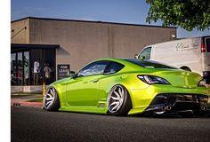 Genesis Creation, Hyundai Genesis Coupe, Wide Body Kits, Dodge Power Wagon, Modified Cars, Slammed, Fast Cars, Sport Cars, Luxury Cars