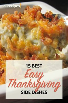 Best Thanksgiving Recipes, Thanksgiving Side Dishes, Fall Recipes, Holiday Recipes, Dinner Recipes, Budget Recipes, Greenbean Casserole Recipe, Casserole Recipes, Veggie Side Dishes