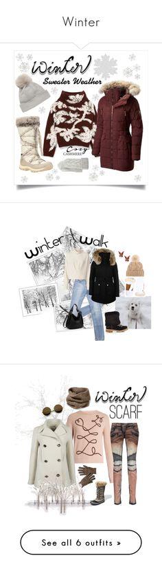 """Winter"" by oliveraelisa ❤ liked on Polyvore featuring Brunello Cucinelli, SOREL, Timberland, Portolano, Il Borgo, claire's, IRO, Montelliana, K100 Karrimor and Loro Piana"