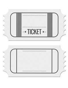 ticket image template