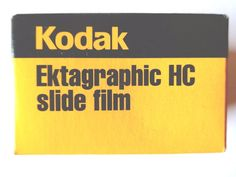 1 x KODAK EKTAGRAPHIC HC BLACK and WHITE 35mm SLIDE FILM EXPIRED 2001 RARE FILM