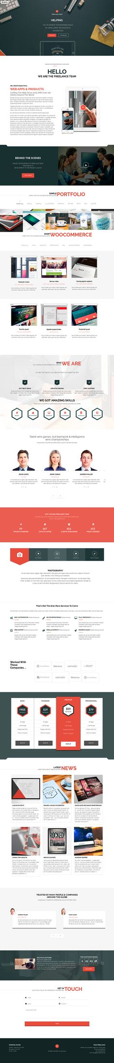 https://www.behance.net/gallery/24756961/Freelance-Team-Portfolio-Shop-WordPress-Theme