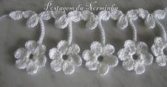 Ideas Crochet Lace Edging Leaves For 2019 Filet Crochet, Art Au Crochet, Beau Crochet, Love Crochet, Irish Crochet, Beautiful Crochet, Knit Crochet, Crochet Shawl, Crochet Boarders