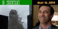 In Theaters May 16, 2014: Godzilla Will Feast On Hamm (Comma, Jon)