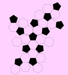 pigtails: Hexagon  Granny's Soccer Ball Cushion and Handbag