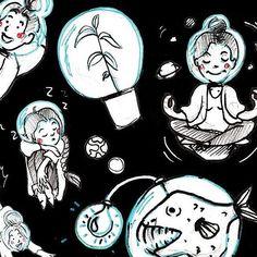 #selfportrait #me #myself #i #girl #woman #illustration #sketch #sketchy #sketchbook #art #instaart #instasketch #artsy #artist #cute #space #sleepy #universe #pen #fish mixedmedia #instacool #cool #fun #cat #planet #yoga #artoftheday #picoftheday