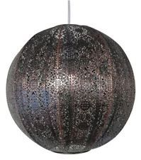 30CM MOROCCAN STYLE BRONZE ROUND HANGING CEILING LIGHT SHADE FITTING UNIVERSAL