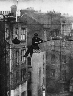 Technicien, Londres (1920's).