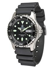 #Apeks Divers Watch - 200m #Analogue watch with date display, and bezel for timing dives