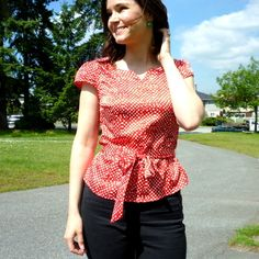 Alma Blouse Pattern Uk 57