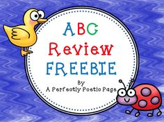 """FREE LANGUAGE ARTS LESSON - """"ABC Review FREEBIE"""" - Pre-kindergarten - first grade students form letters and review the letter order.  Go to the Best of Teacher Entrepreneurs for this and hundreds of free lessons.     Pre-Kindergarten - 1st Grade  #FreeLesson   #LanguageArts   http://www.thebestofteacherentrepreneurs.net/2013/04/free-language-arts-lesson-abc-review.html"""