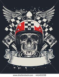 bikers skull logo - photo #8