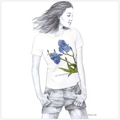 Maľované tričko – Iris – miu.sk Fictional Characters, Art, Shirts, Art Background, Kunst, Performing Arts, Fantasy Characters, Dress Shirts, Shirt