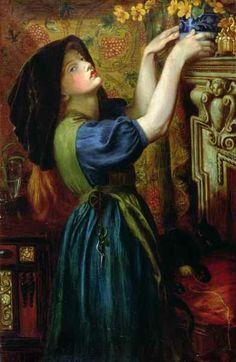 Dante Gabriel Rossetti : Marigolds 1874