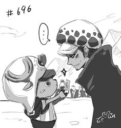 One Piece, Law, Chopper